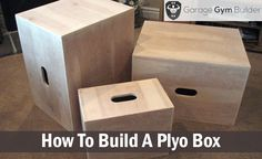Hip thrust machine diy projects worth doing for Plyo box template