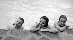 mermaids in the pool!