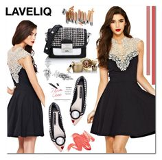 """""""LAVELIQ 13"""" by aida-nurkovic ❤ liked on Polyvore featuring Alice + Olivia, Karl Lagerfeld, Elizabeth Arden, women's clothing, women, female, woman, misses, juniors and Laveliq"""