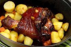 Jarrets porc caramélisés