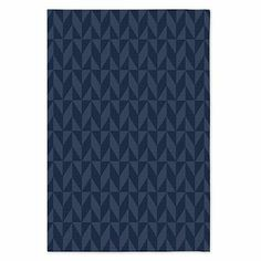 Andes Wool Rug in Midnight- Special Order at West Elm
