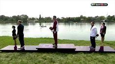 Watch as Ed Mckeever crosses the line of the Men's K1 200m final in Baku winning a Bronze Medal.