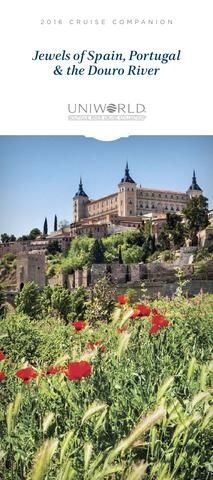 2016 Jewels of Spain, Portugal & the Douro River Cruise Companion