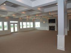 Brick Landings Plantation's upstairs event room.