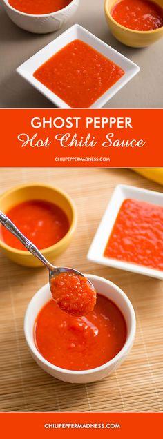 Ghost Pepper Chili Hot Sauce