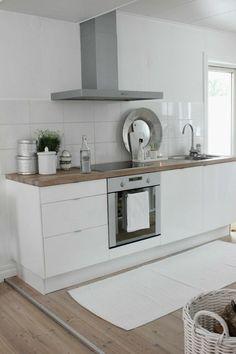 idée de décoration de cuisine scandinave en bois