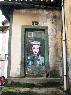 Beautiful Stencil Graffiti by Andrea Michaelsson - My Modern Metropolis