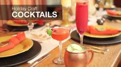 Ronco Recipes - Holiday Craft Cocktails - https://www.barmasters.com/videos/ronco-recipes-holiday-craft-cocktails/ #barmasters