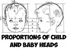 Found a cool reference sheet to use for the proportions of baby and child heads. Bookmark this page and come back when you need to reference it.