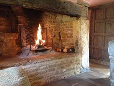 Resultado de imagen para rustic fireplaces