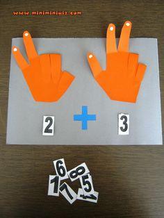 This Pin was discovered by Esr Preschool Learning Activities, Teaching Math, Fun Learning, Math Classroom, Kindergarten Math, Alphabet Letter Crafts, 1st Grade Math, Math For Kids, Kids Education