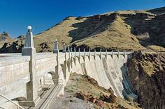 Owyhee Dam in Malheur County is one of the larger concrete arch gravity dams in the world. It was completed by the federal Bureau of Reclamation in 1932.