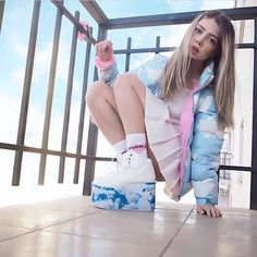 WEBSTA @ lazyoafs - Our candy cloud @sheidlina ☁️