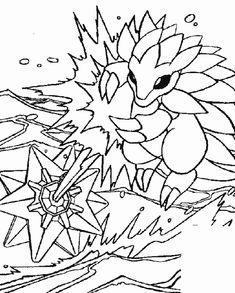 Ausmalbild Pokemon - Pokemon
