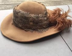Vintage Jack MCCONNELL Boutique Wool Hat Excello Made In USA #JackMcConnell