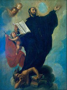 On St. Ignatius Loyola featuring intro to his life and spirituality … http://corjesusacratissimum.org/2014/07/feast-of-st-ignatius-of-loyola/