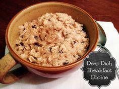 The Americana Kitchen: Deep Dish Breakfast Cookie