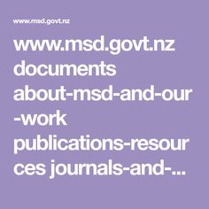 nz documents about-msd-and-our-work publications-resources journals-and-magazines social-policy-journal Social Policy, Document, Thesis, History, Pdf, Magazines, Journals, Program Management, Historia