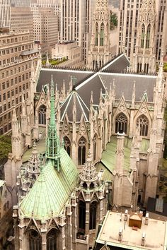 St. Patrick's Cathedral) is a decorated Neo-Gothic-style Roman Catholic cathedral church in the United States