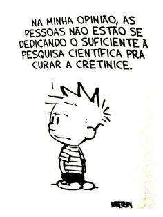 Calvin e toda a sua sabedoria