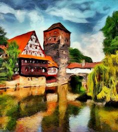 GERMANY BY ARTIST UNKNOWN. Dynamic Auto Painter is a sophisticated set of digital brushes and controls allowing creation of paintings based on reference photos. With the right skill these digital paintings and those of traditional media are indistinguishable. Now scroll through Pinterest pins of high quality Dynamic Auto Painter artwork and see if you are not impressed with digital paintings. SEE MORE DIGITAL PAINTING AS ART NOW.... https://richard-neuman-artist.com/works