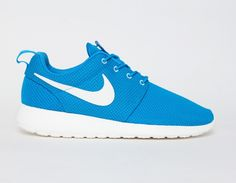 #Nike Roshe Run Blue