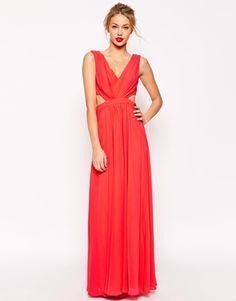 ASOS Side Cutout Maxi Dress