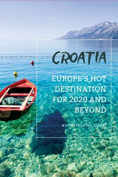 """Croatia was named the top """"Emerging Destination"""" by Virtuoso travel advisors for the new decade, honoring the stir caused by the Game-of-Thrones effect, dramatic landscapes, and proximity to other European destinations. Travel Around Europe, Europe Travel Guide, Travel Guides, Travel Destinations, Visit Croatia, Croatia Travel, Places Around The World, Travel Around The World, European Destination"""