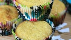 These paleo coconut muffins, made with coconut flour and coconut milk, are quick and easy and can fit into a paleo lifestyle.