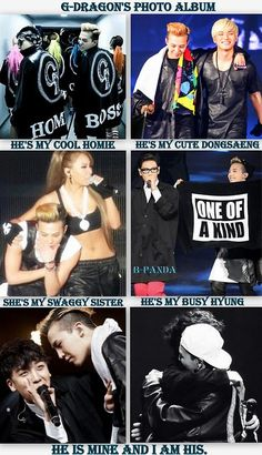 Couple del grupo BigBang 빅뱅 conformada por G-Dragon (G드래곤) y Seung Ri ( 승리) KPOP
