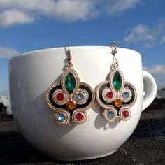 I just discovered this while shopping on Poshmark: Colorful earring.. Check it out! Price: $15 Size: OS