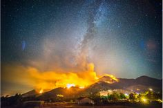 Lake Fire, San Bernardino National Forest. Photo by  Stuart Palley. http://www.wired.com/2015/08/stuart-palley-terra-flamma-hellish-beauty-california-wildfires-drought/