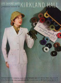 Glamour-ad-Life-Savers-Kirkland-Hall-womens-suit-...
