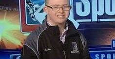 Kevin Grow, an 18-Year-Old With Down Syndrome, Signs an NBA Contract Philadelphia, PA | 2/18/14 1:59 PM