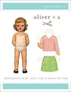 purl soho   products   item   hopscotch skirt, knit top + dress (oliver + s)