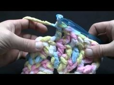 Learn how to crochet baby's first afghan. Takes about 3 hours to complete a full size afghan.