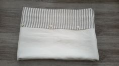 Linen duvet cover: off white (milk white) blending with striped fabric. Any size is available for Queen, King, Twin or Full. Linen bedding from Linum Studio are made from washed pure linen fabric. Our linen home textile is machine washable.   FREE SHIPPING!!!  Please find the matching PILLOW CASES there: https://www.etsy.com/listing/95258155/2-pure-linen-off-white-or-natural-gray?ref=shop_home_active_7…