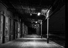 Estación abandonada en Añover de Tajo,Toledo