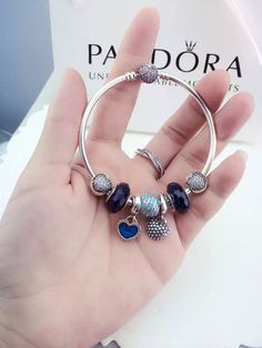 50% OFF!!! $179 Pandora Charm Bracelet. Hot Sale!!! SKU: CB01199 - PANDORA Bracelet Ideas