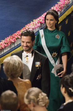 Prince Carl Philip and Princess Sofia: The Swedish royals tied the knot in a spectacular ceremony last June