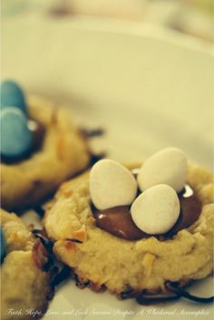 Bird's Nest Cookies | Tasty Kitchen: A Happy Recipe Community!