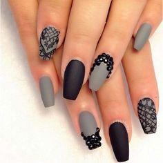60 Pretty Matte Nail Designs ❤ liked on Polyvore featuring beauty products, nail care, nail treatments, nails, makeup, nail polish, beauty and nail looks