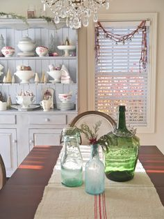 Chateau Chic: Styling Shelves For A Cottage Christmas
