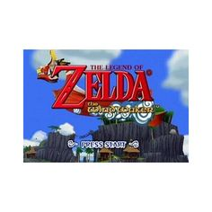 Game: The Legend of Zelda: Wind Waker (2003, Nintendo, GCN) -... ❤ liked on Polyvore featuring zelda and pictures