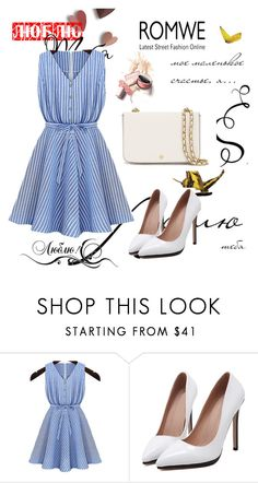 """Romwe (2) 6"" by aida-1999 ❤ liked on Polyvore featuring Tory Burch"