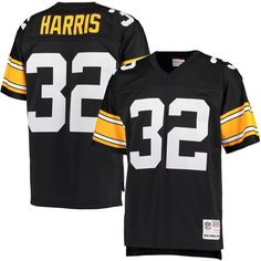 nfl jersey for sale Men's Pittsburgh Steelers Franco Harris Mitchell & Ness Black Retired Player Replica Jersey Pittsburgh Steelers Jerseys, Steelers Football, Football Jerseys, Sports Jerseys, Football Themes, Official Nfl Football, American Football Jersey, Jersey Shirt, T Shirt