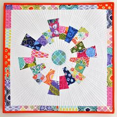Dresden Challenge - Mini by thegirlwhoquilts, via Flickr