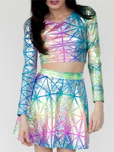 Futuristic, Zenon Inspired Clothes To Wear On A First Date | Gurl.com