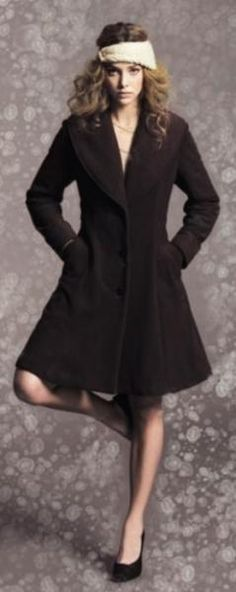 awesome winter coats from Vaute Couture...100% environmentally friendly