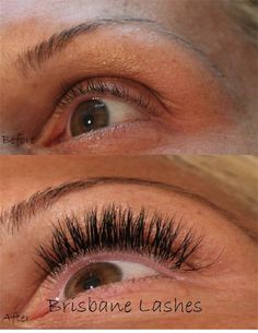 Full set of lash extensions. #Capelli